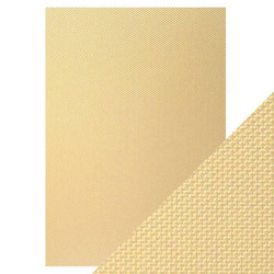 Tonic Luxury Embossed -kartonki, Golden Mosaic, 5 arkkia