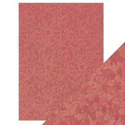 Tonic Hand Crafted Cotton -paperi, Coral Confetti, 5 arkkia