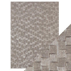 Tonic Hand Crafted Cotton -paperi, Pewter Slates, 5 arkkia
