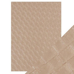 Tonic Hand Crafted Cotton -paperi, Woven Hide, 5 arkkia