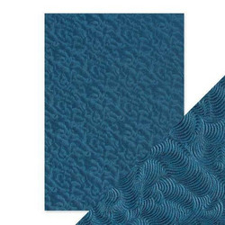 Tonic Hand Crafted Cotton -paperi, Deep Sea Dive, 5 arkkia