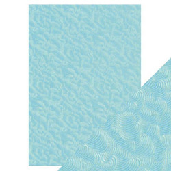 Tonic Hand Crafted Cotton -paperi, Caribbean Tide, 5 arkkia
