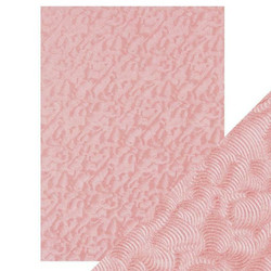 Tonic Hand Crafted Cotton -paperi, Pink Champagne, 5 arkkia