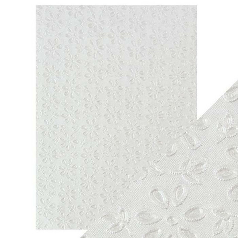 Tonic Hand Crafted Cotton -paperi, English Lace, 5 arkkia