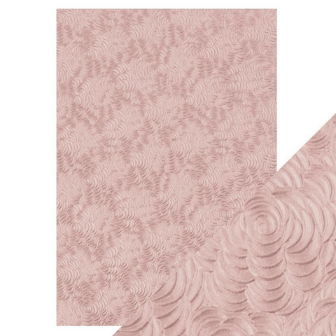 Tonic Hand Crafted Cotton -paperi, Pink Petals, 5 arkkia