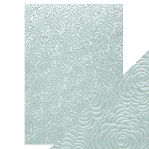 Tonic Hand Crafted Cotton -paperi, Iced Petals, 5 arkkia