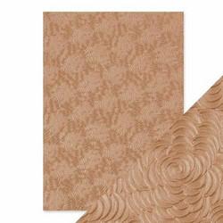 Tonic Hand Crafted Cotton -paperi, Warm Dahlia, 5 arkkia