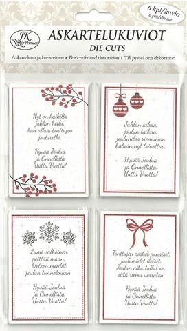 Askartelukuviot Joulutoivotukset