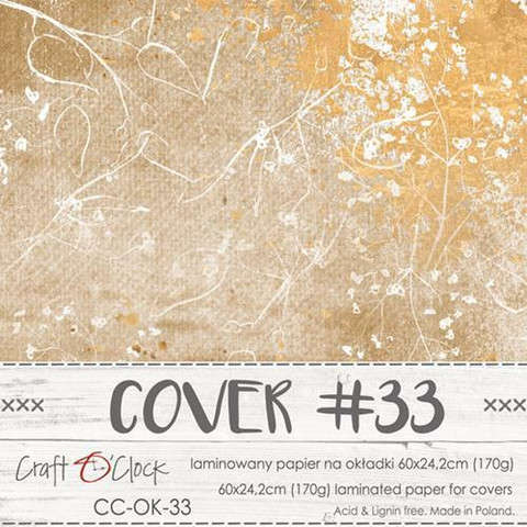 Craft O'clock Cover -paperi 33 Time Of Reflection,  60 x 24.2 cm
