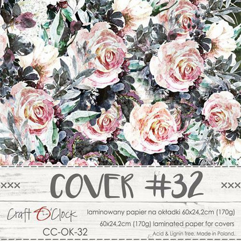 Craft O'clock Cover -paperi 32, A Twinkle of Sunrise,  60 x 24.2 cm