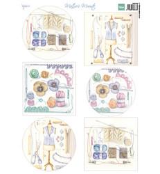 Marianne Design korttikuvat Crochet