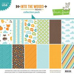 Lawn Fawn paperipakkaus Into The Woods Remix, 12