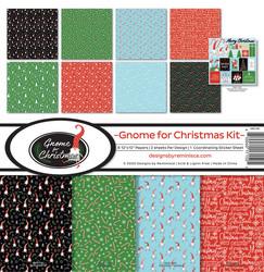 Reminisce Gnome For Christmas -paperipakkaus 12