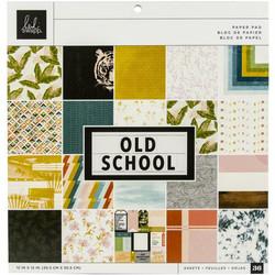 Heidi Swapp paperikko Old School, 12