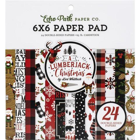 Echo Park A Lumberjack Christmas -paperipakkaus