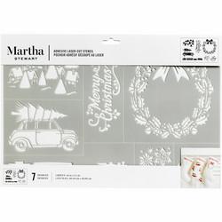 Martha Stewart sapluuna Christmas Holidays