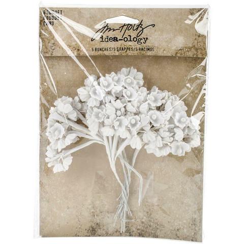 Tim Holtz Idea-Ology Bouquet -paperikukat