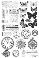 Craft O'clock Mixed Media 4 -kuultopaperi
