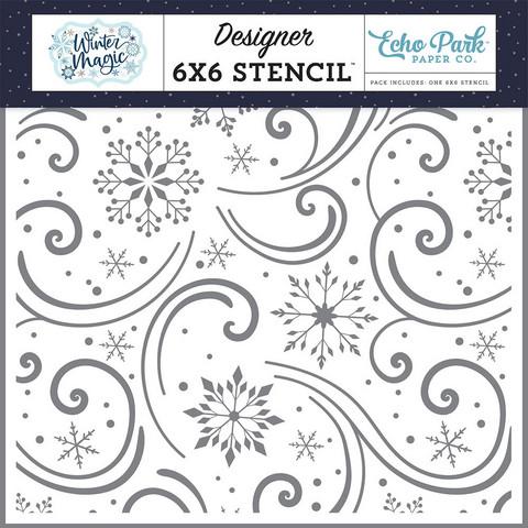 Echo Park sapluuna Snowflake Swirls