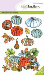 CraftEmotions leimasinsetti Pumpkins and Gourds