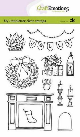 CraftEmotions leimasinsetti X-mas decorations 2