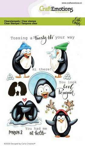 CraftEmotions leimasinsetti Penguin 2