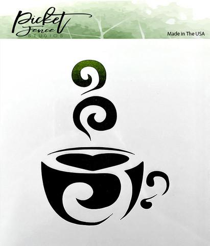 Picket Fence sapluuna Coffee Cup