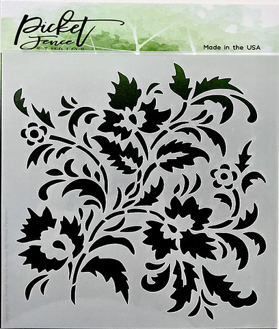 Picket Fence sapluuna Floral