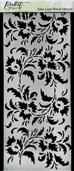Picket Fence sapluuna Slim Line Floral