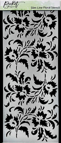 Picket Fence sapluuna Slimline Floral