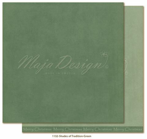 Maja Design Monochromes - Shades of Tradition skräppipaperi Green