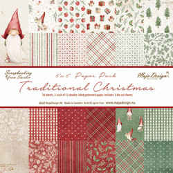 Maja Design Traditional Christmas -paperipakkaus