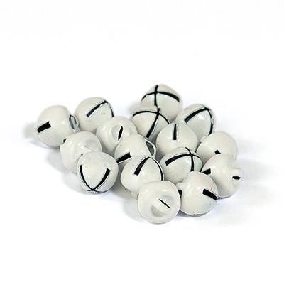 Hobby Fun kulkuset, valkoinen 8 mm, 16 kpl