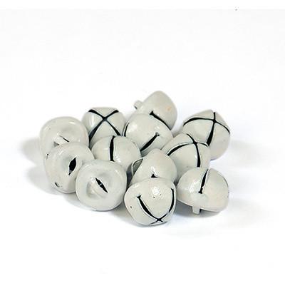 Hobby Fun kulkuset, valkoinen 10 mm, 12 kpl