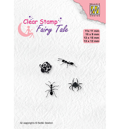 Nellie's Choice Fairy Tale leimasin Insects