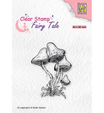 Nellie's Choice Fairy Tale leimasin Mushrooms