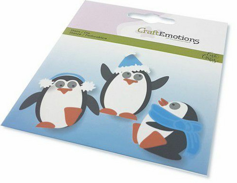 CraftEmotions Penguin -stanssisetti