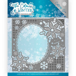 Jeanines Art The Colours of Winter stanssi Winter Frame