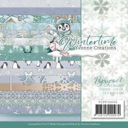 Yvonne Creations paperipakkaus Wintertime