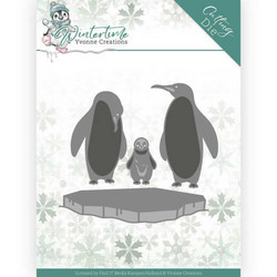 Yvonne Creations Wintertime stanssisetti Penguins on Ice