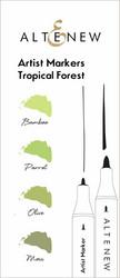 Altenew Artist Markers -setti Tropical Forest, alkoholitussit
