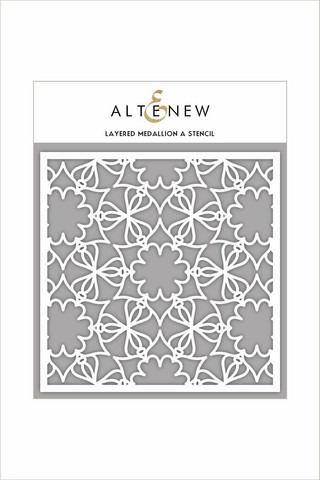 Altenew Layered Medallion A -sapluuna