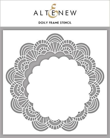 Altenew Doily Frame -sapluuna- ja maskisetti