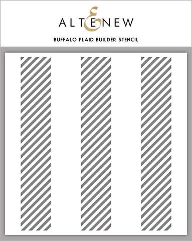 Altenew Buffalo Plaid Builder -sapluuna