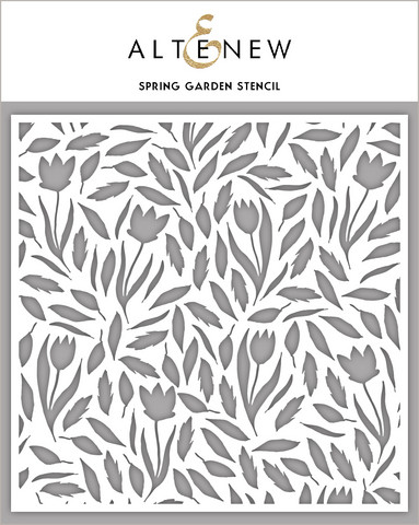 Altenew Spring Garden -sapluuna