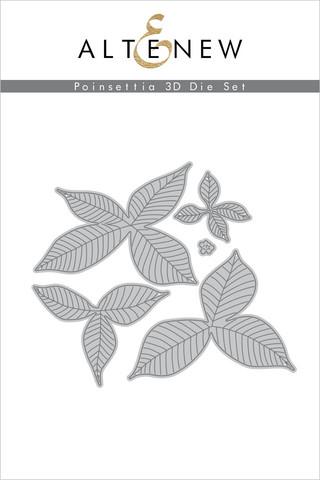 Altenew Poinsettia 3D -stanssisetti