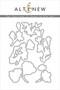 Altenew Pen Sketched Silhouette -stanssisetti