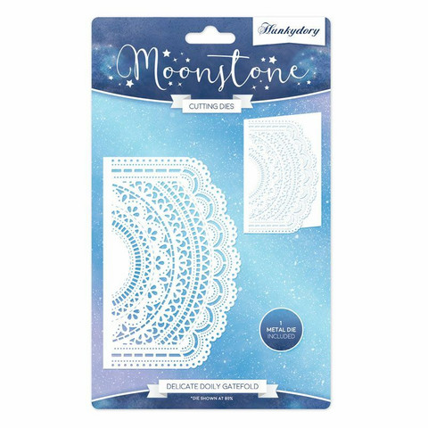 Hunkydory stanssi Delicate Doily Gatefold