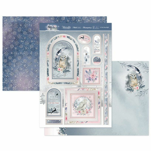 Hunkydory Winter Forest Luxury Topper -pakkaus, In the Moonlight
