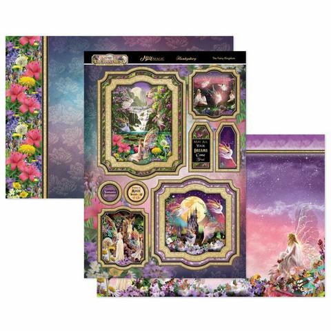 Hunkydory Land of Enchantment Luxury Topper -pakkaus, The Fairy Kingdom